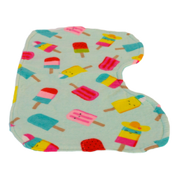 Pop The Popsicle Infant Burp Cloth
