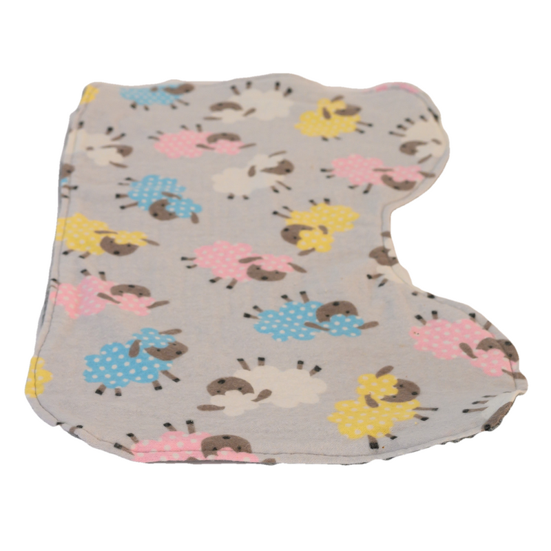 Sheep Happens Infant Burp Cloth