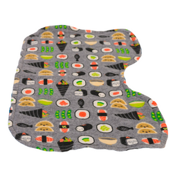 Wasabi Time Infant Burp Cloth