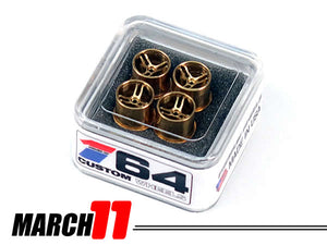 House Of 164 - Wheels - MARCH 11 - brass all medium lip -