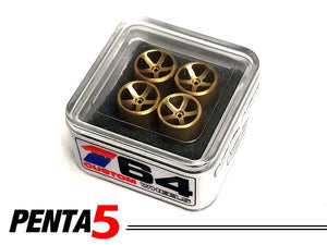 House Of 164 - Wheels - PENTA5 - brass - brass
