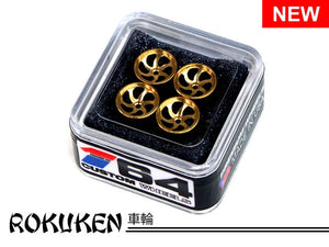House Of 164 - Wheels - ROKUKEN - brass -