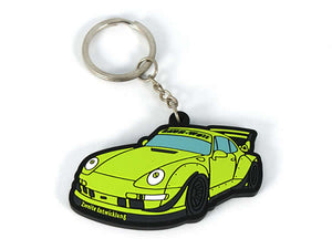 House Of 164 - Gear - Key Chain (RWB-Sinister) -