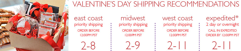 Valentine's Day Shipping Recommendations