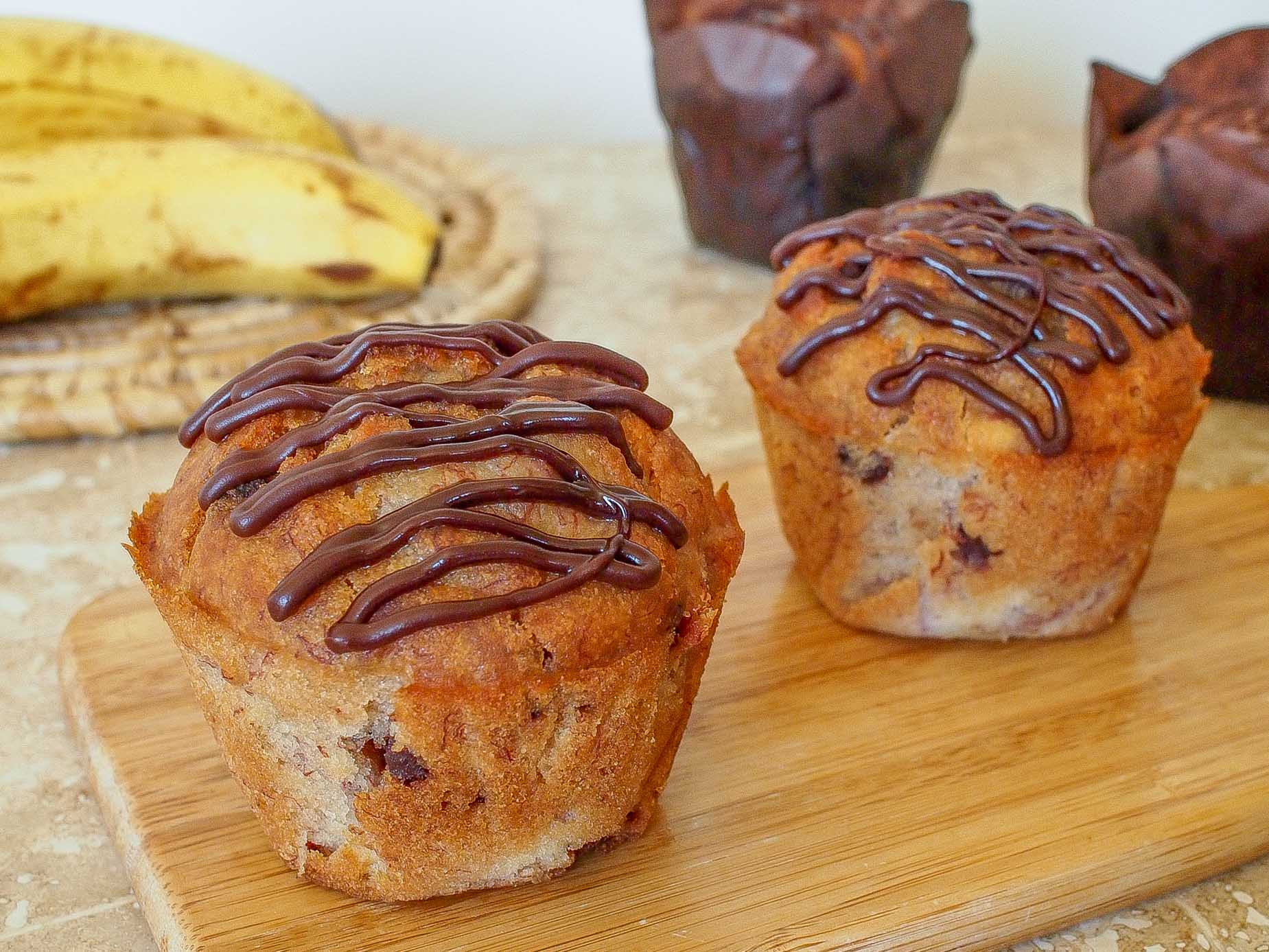 Banana Chocolate Muffin - 4pk