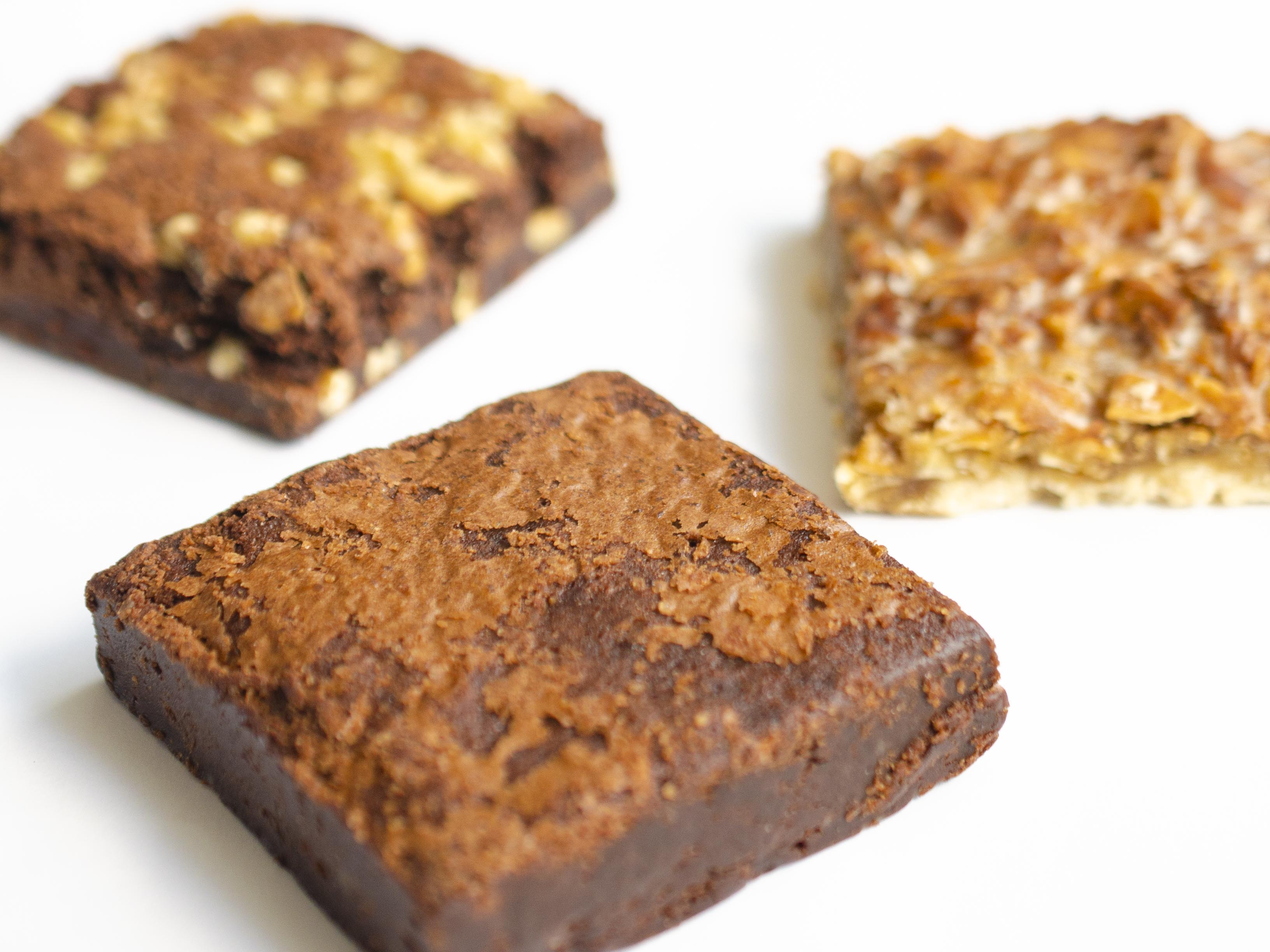 brownies + squares trio