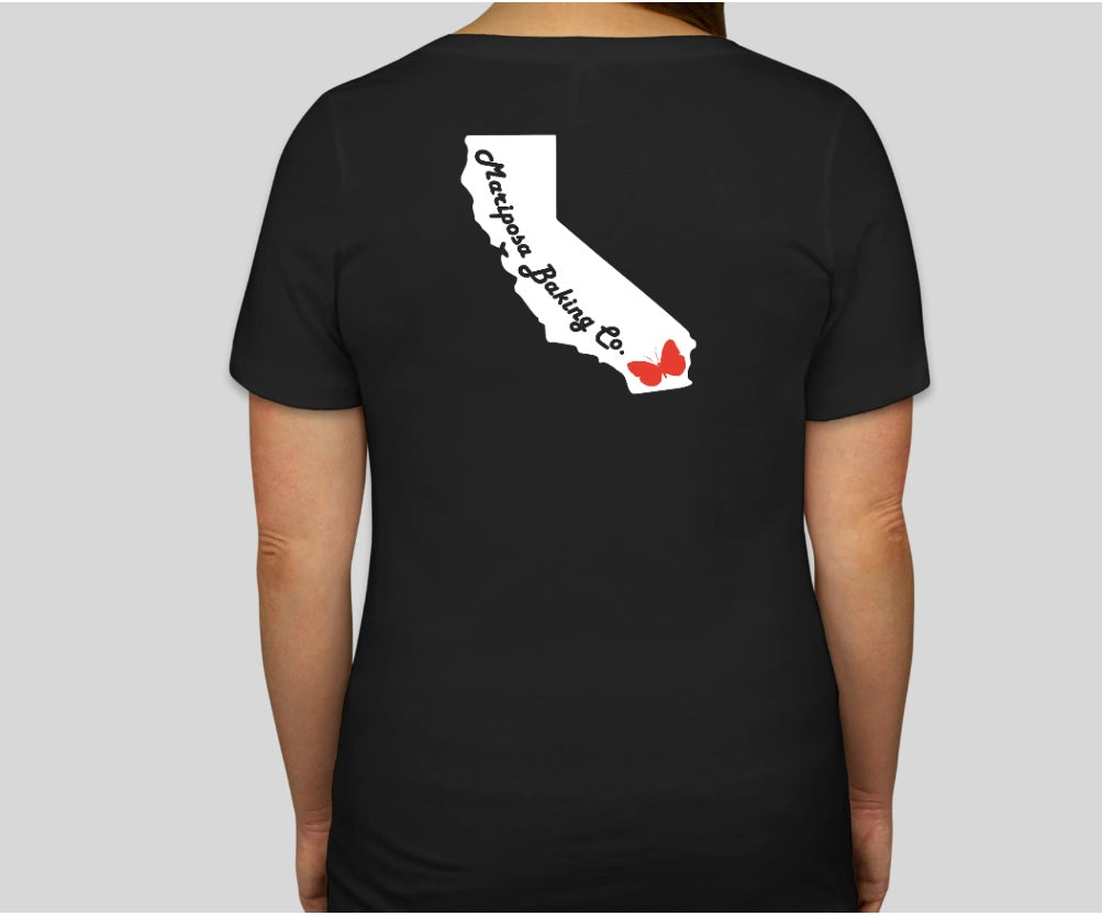 2020 Cali-Themed Gluten-Freek V-Neck