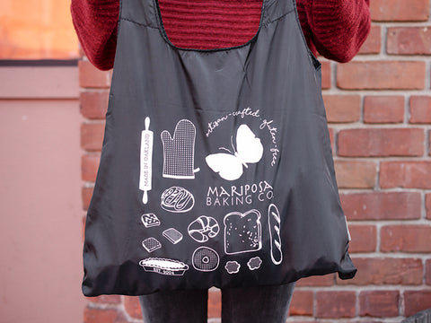 mariposa reusable chico bag