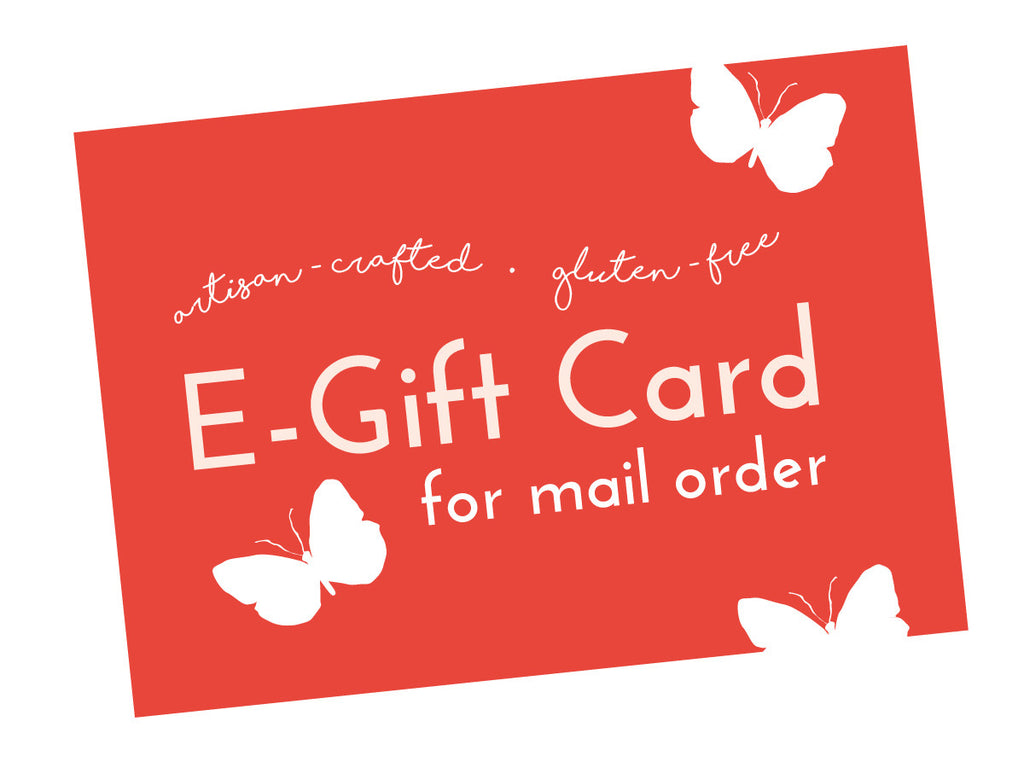 Mail order e gift card mariposa baking co mail order e gift card negle Images