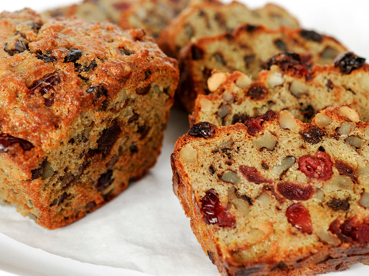 Grainless Mini Fruit Cake