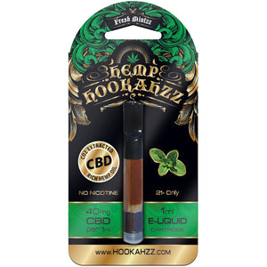 Hookahzz - Hemp CBD E-Liquid Prefilled Cartridge 40mg