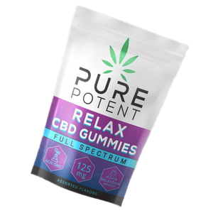 Pure Potent - Relax CBD Gummies 125MG 5ct