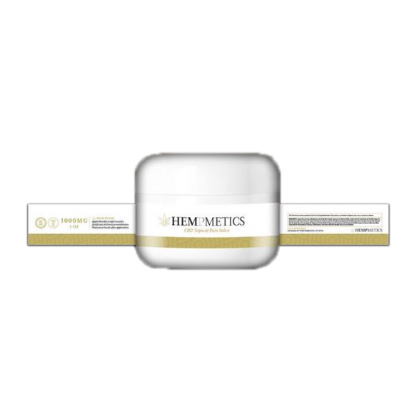 Hempmetics - CBD Pain Salve 1000mg 1oz