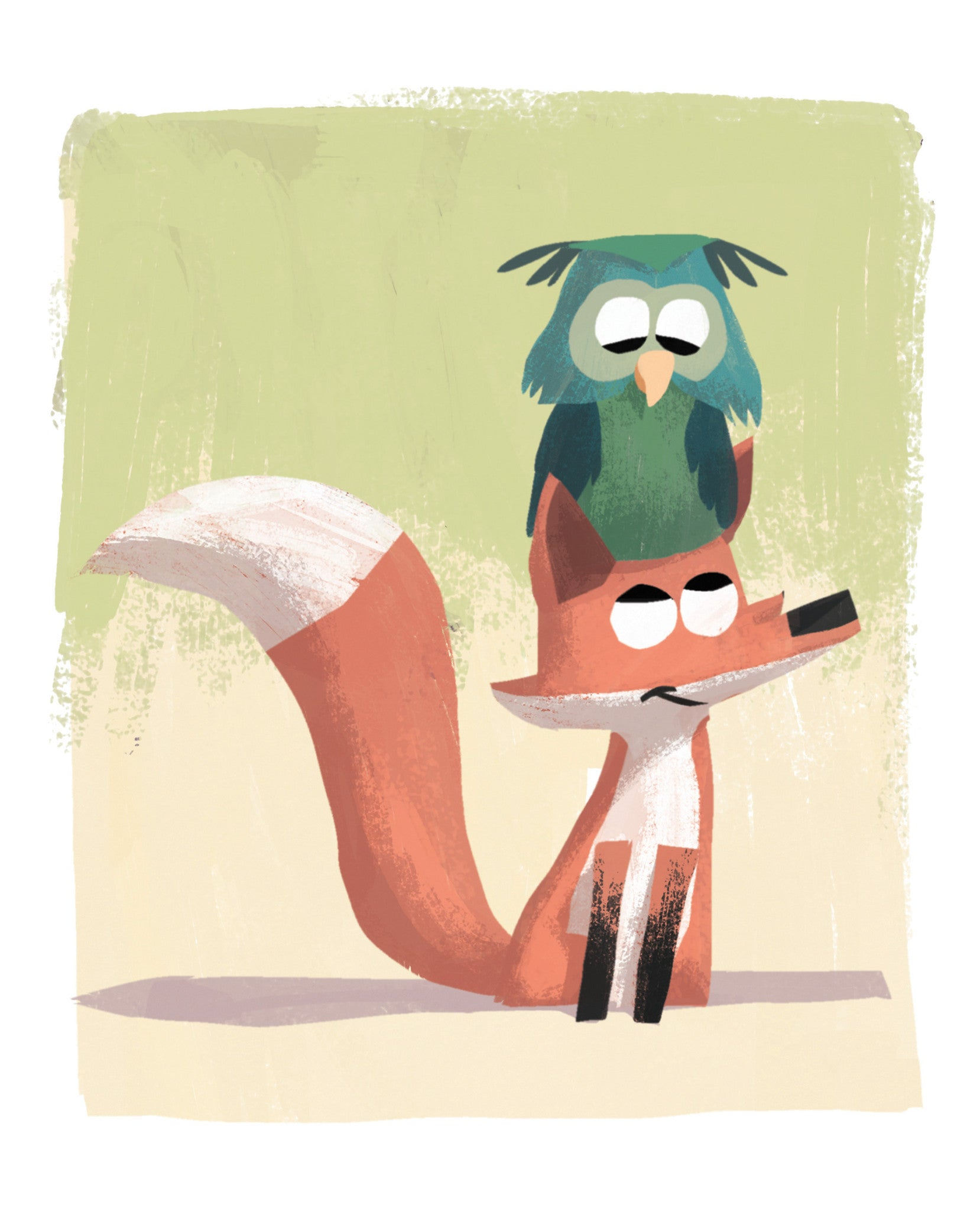 Owl and Fox - 8