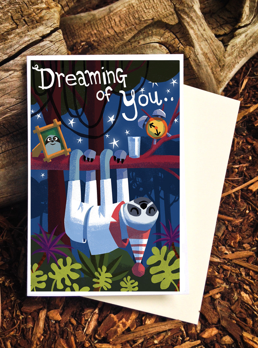 Dreaming of You Sloth - Card