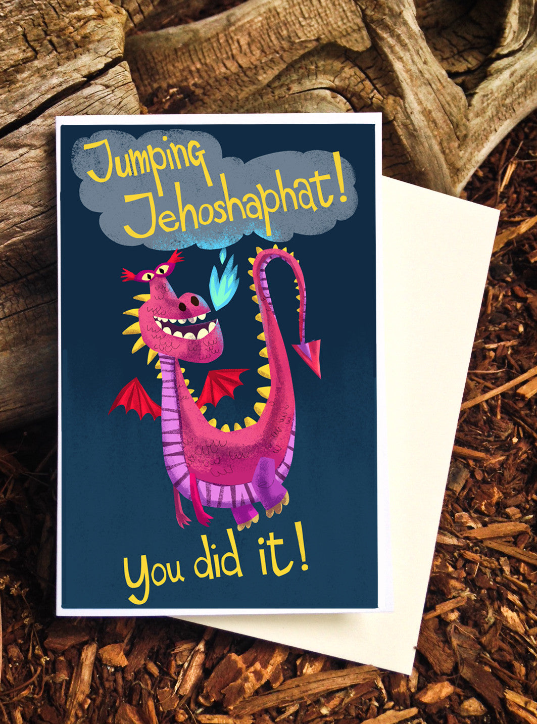 Jumping Jehoshaphats Graduation - Card