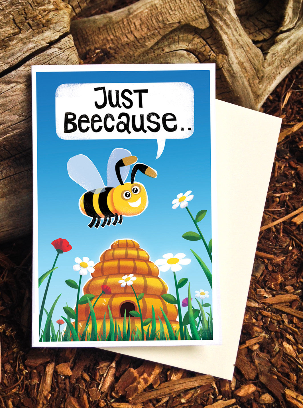Just Beecause Card - Scatch n' Sniff Series