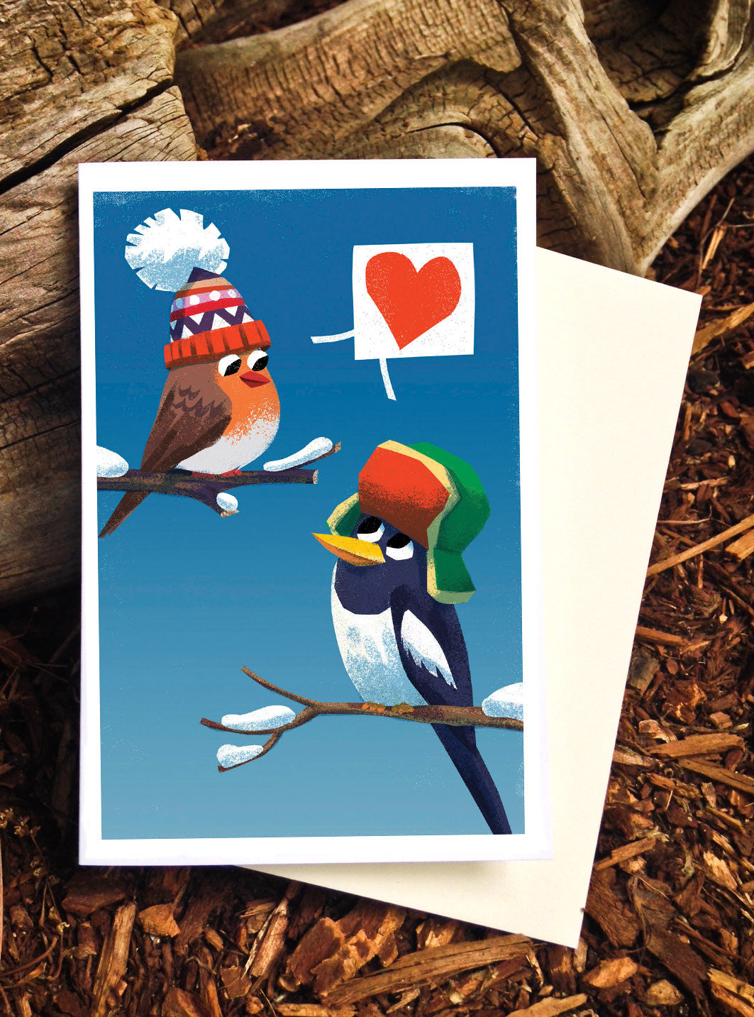Love Birds Card - Scratch n' Sniff Series