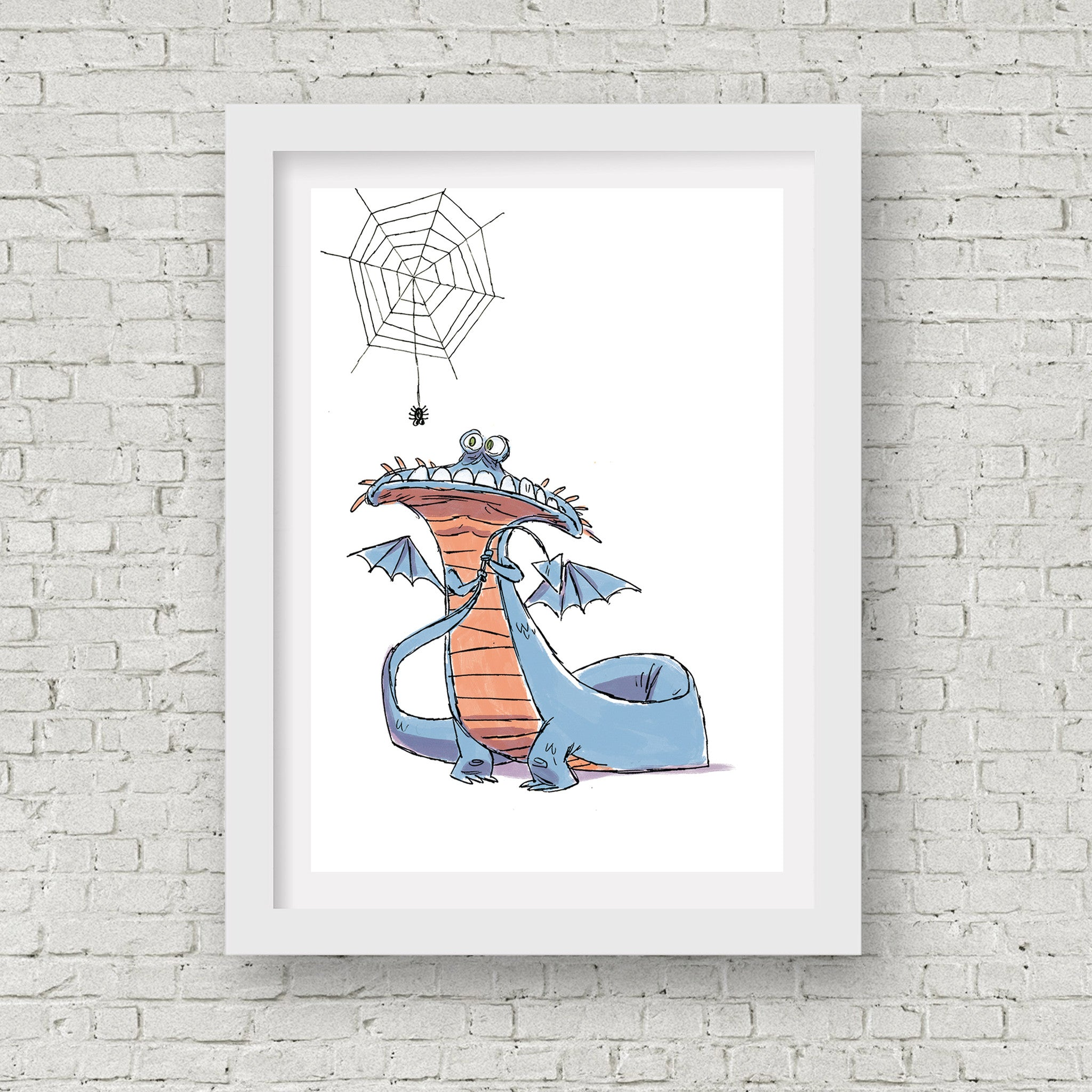 Dragon Afraid Print - 5