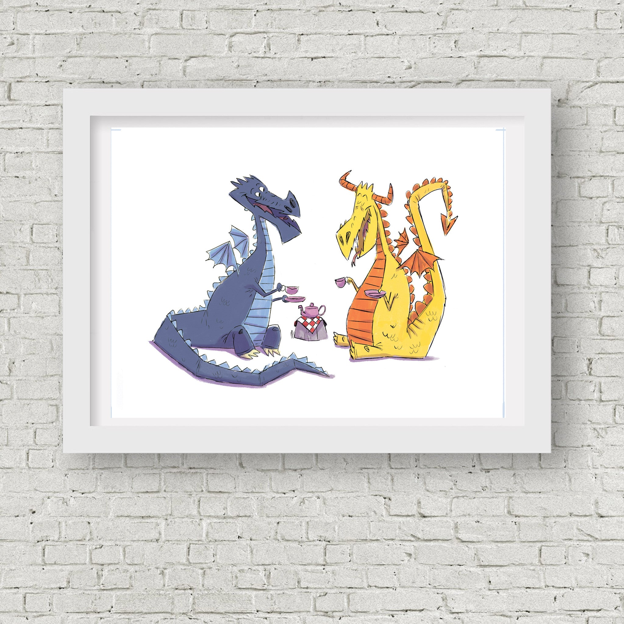 Dragon Tea Party - Print 5