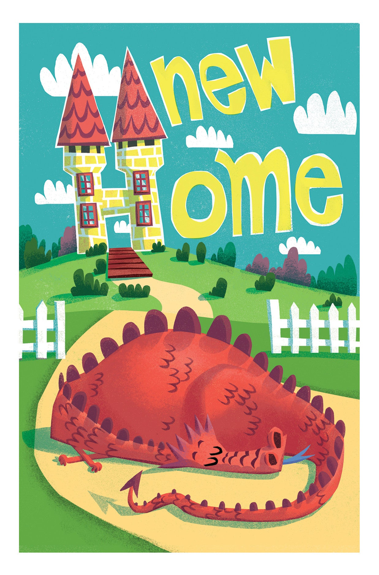 New Home /Dragon Card - Scratch n' Sniff Series