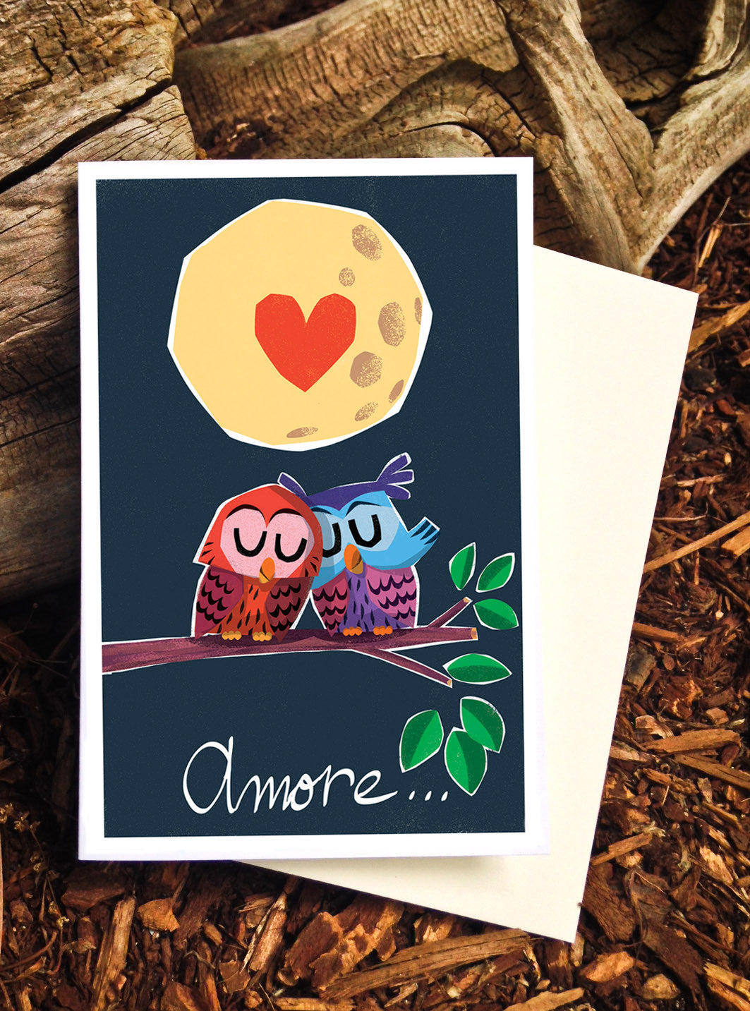 Owls Amore Card - Scratch n' Sniff Series