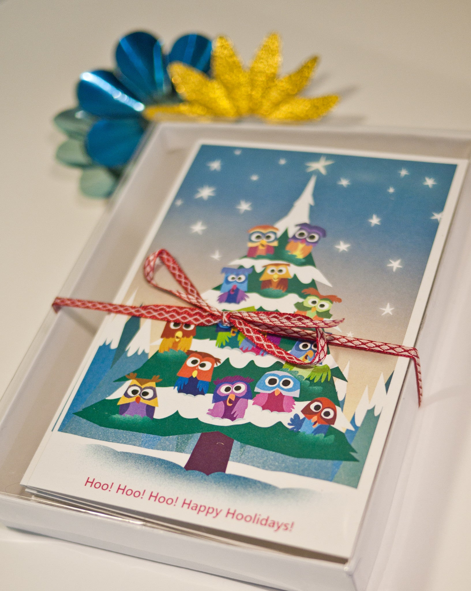 Holiday Christmas Cards - Boxed Set of 10