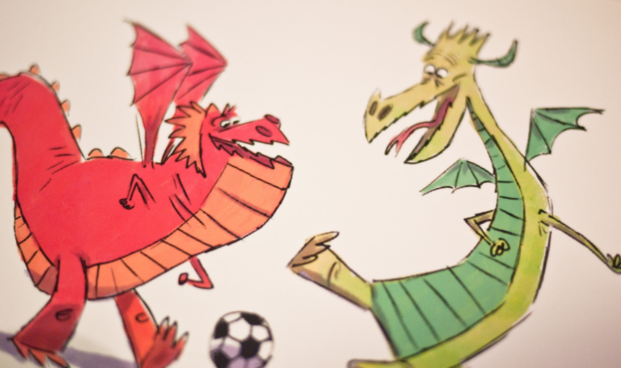 Dragon Kick it! - Print 5