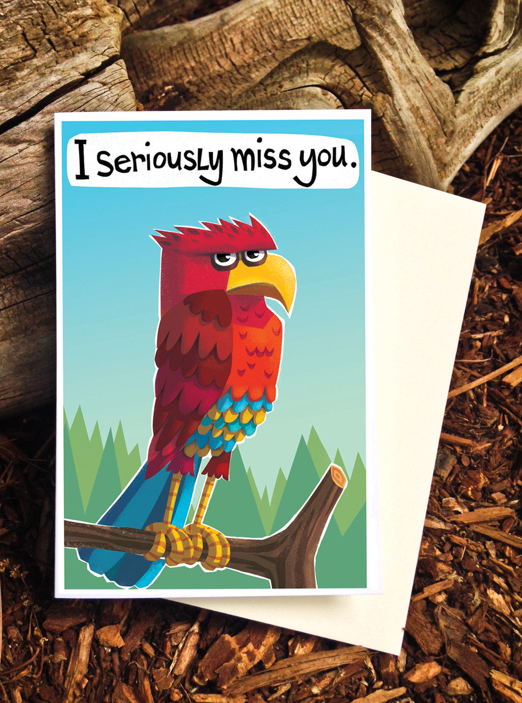 I Seriously Miss You - Card