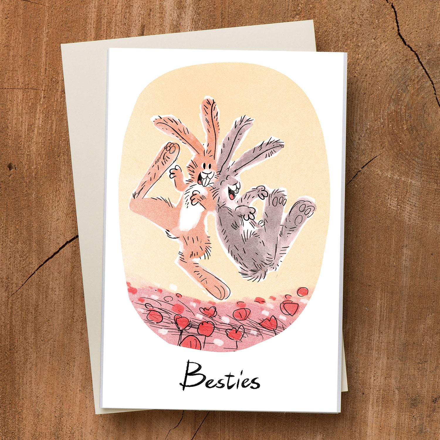 Bunny Besties Card