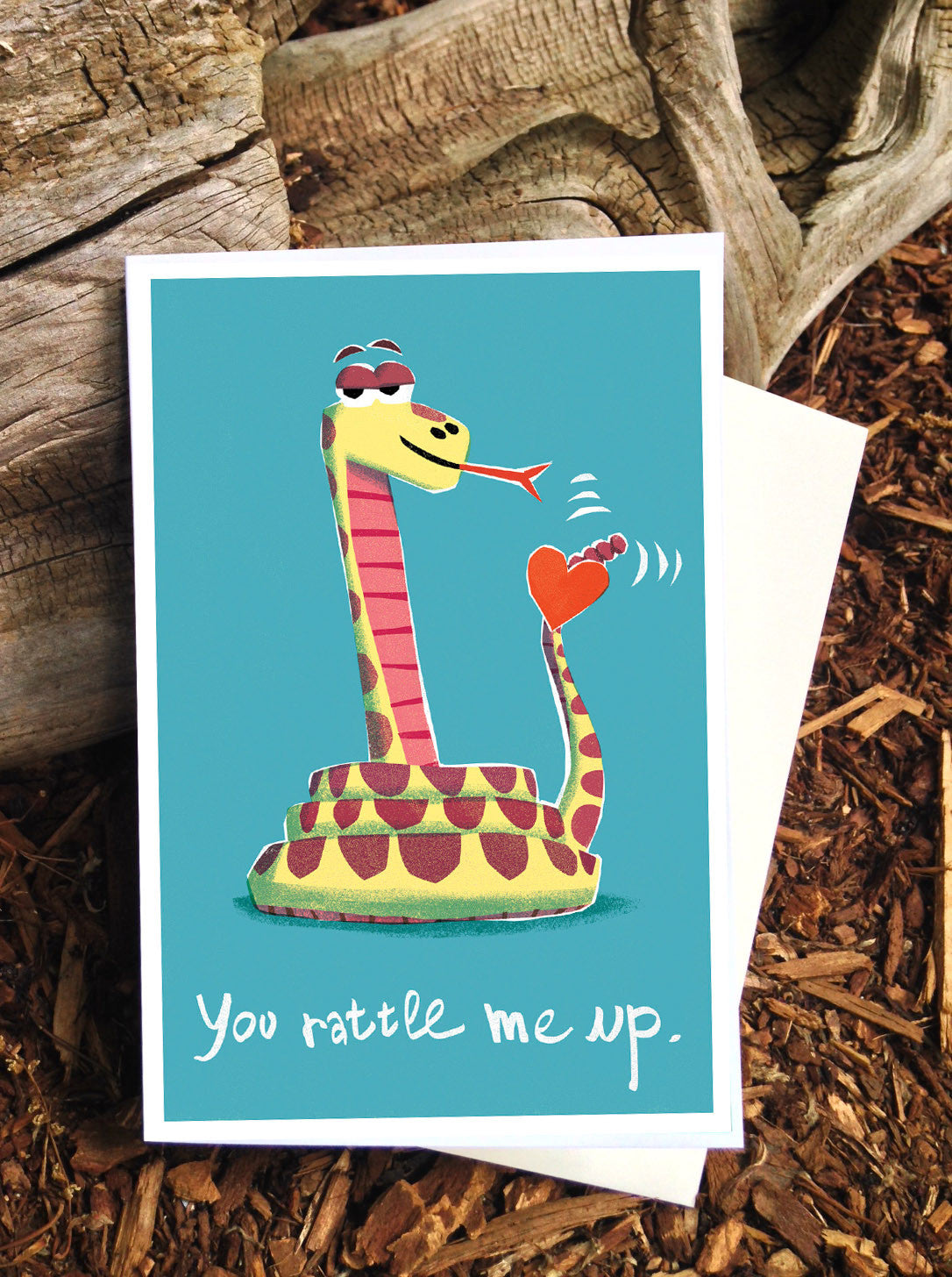 Snake Love Card - Scratch n' Sniff series