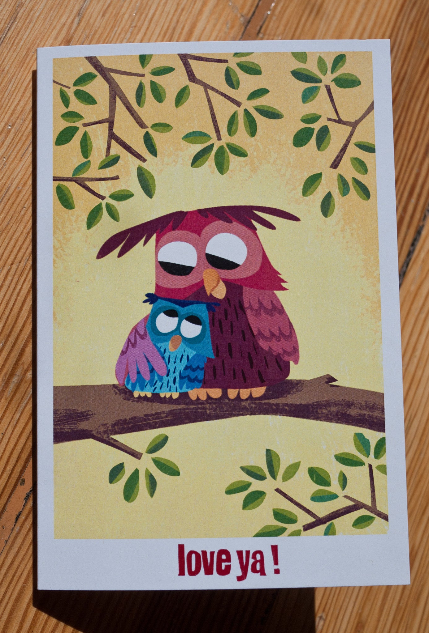 Owls Love Ya! Card