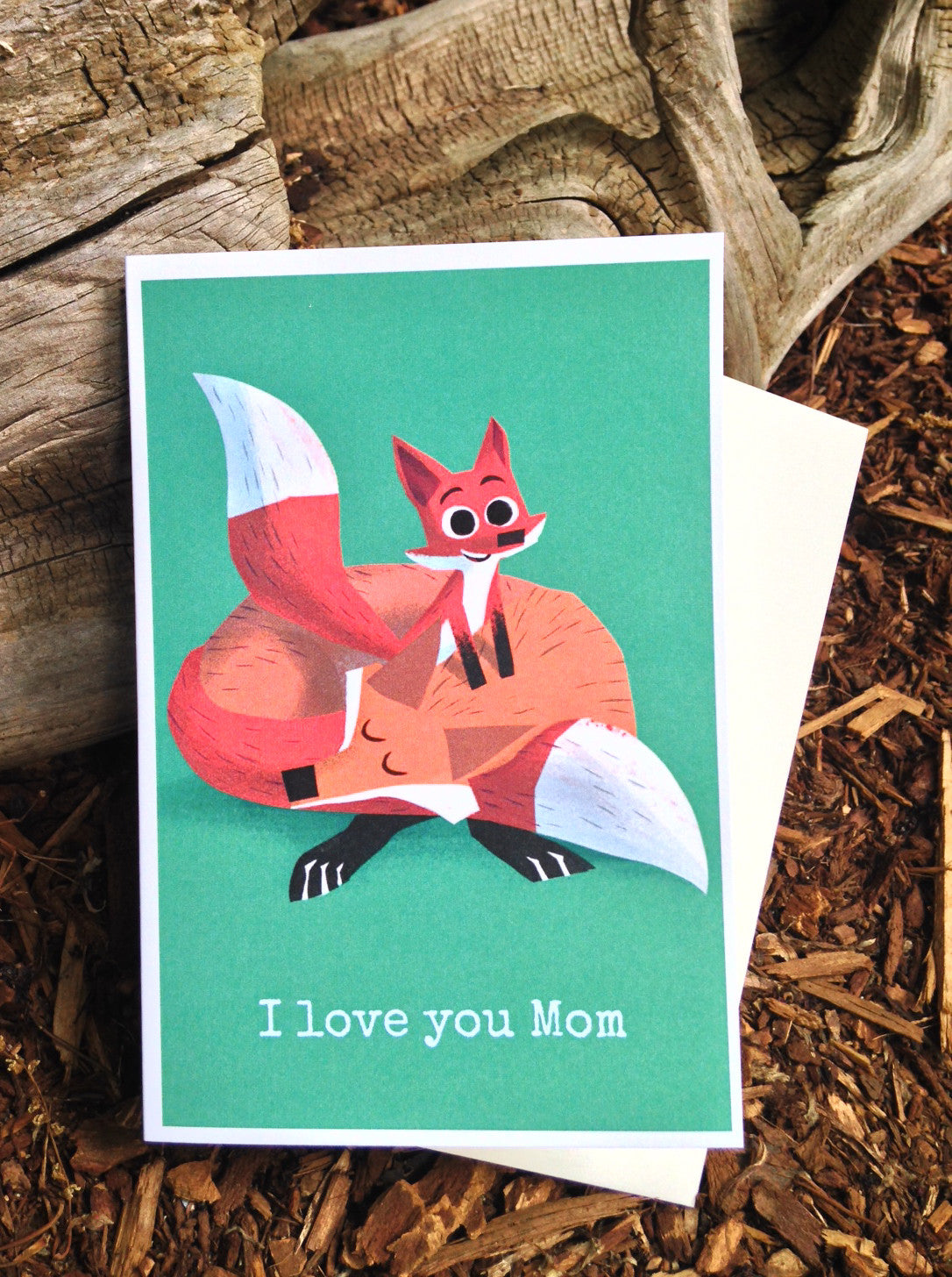 Foxes Mother's Day Card