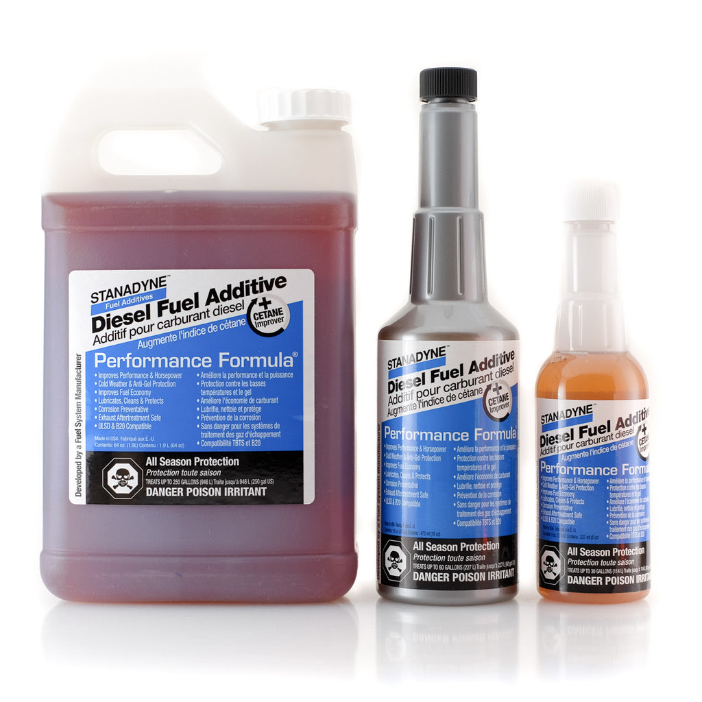 stanadyne performance formula all season diesel fuel