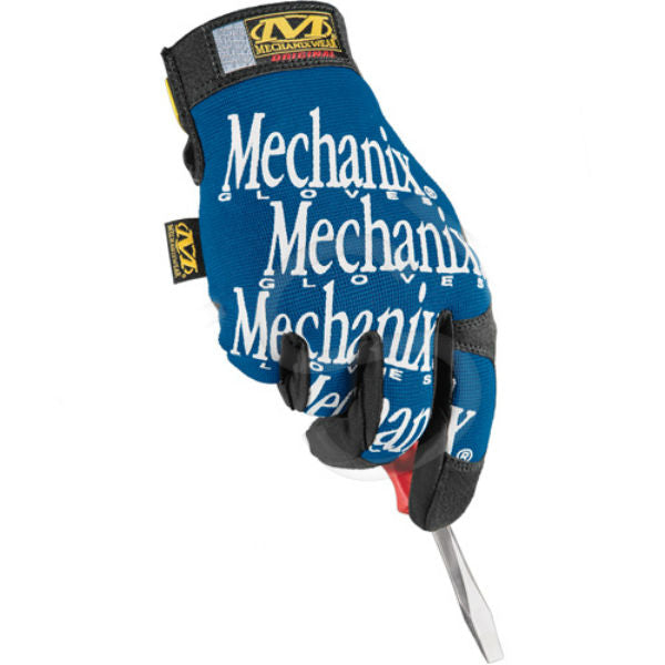 Mechanix Original Blue Gloves