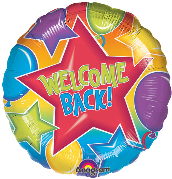 "18"" Welcome Back Balloon"