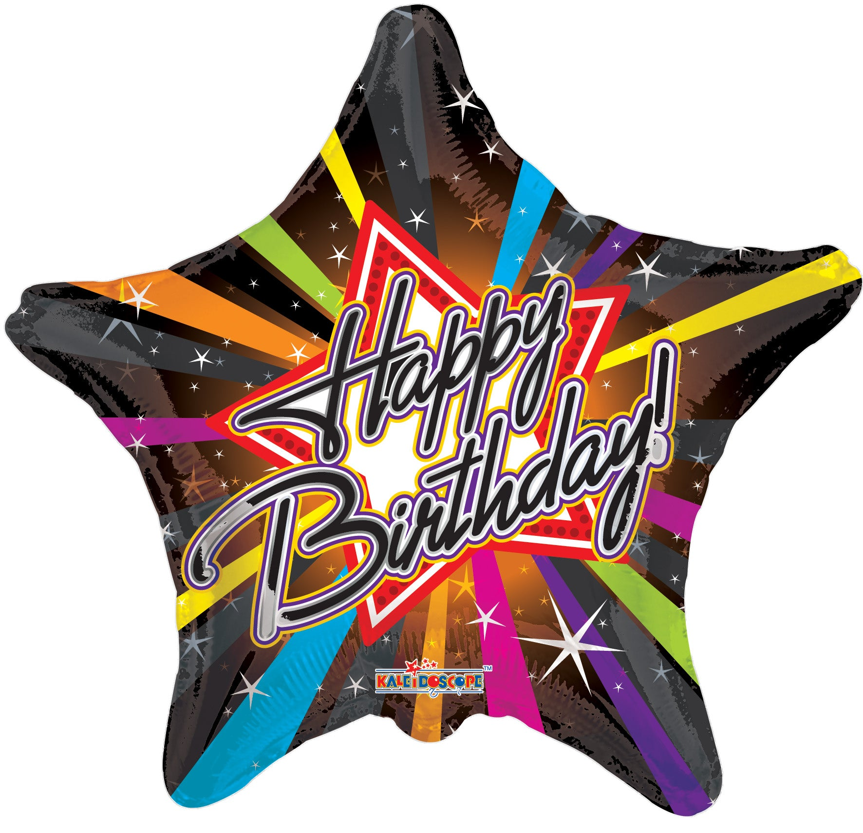"18"" Happy birthday (star shaped)"