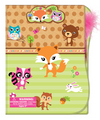 Clipboard Folder Set With Feather Pen,Flower Critter