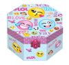 Octagon Shaped Musical Jewelry Box, Emoji