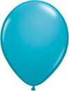 "11"" Latex Tropical Teal Balloon"