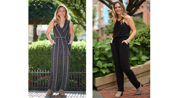 simple black jumpsuit