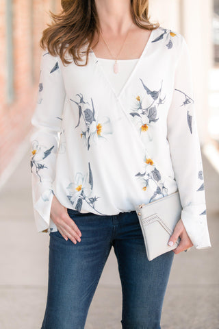 Spring Blouse For Work