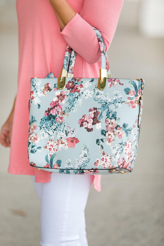Spring Floral Purse