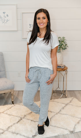 Eternal Joy Joggers, Heather Charcoal