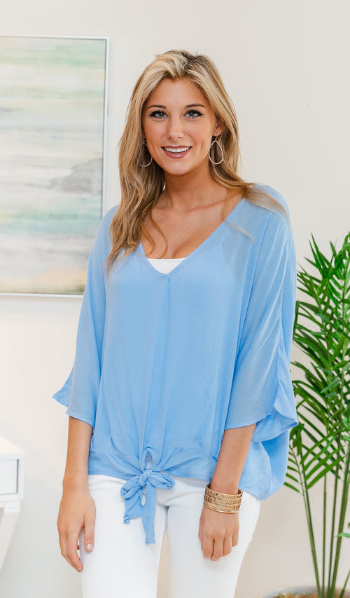 Anything But Ordinary Top, Periwinkle