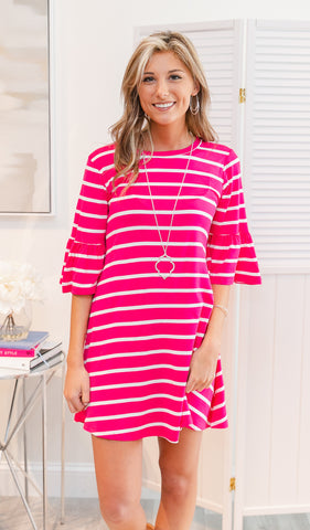 Simply Divine Shift Dress, Pink