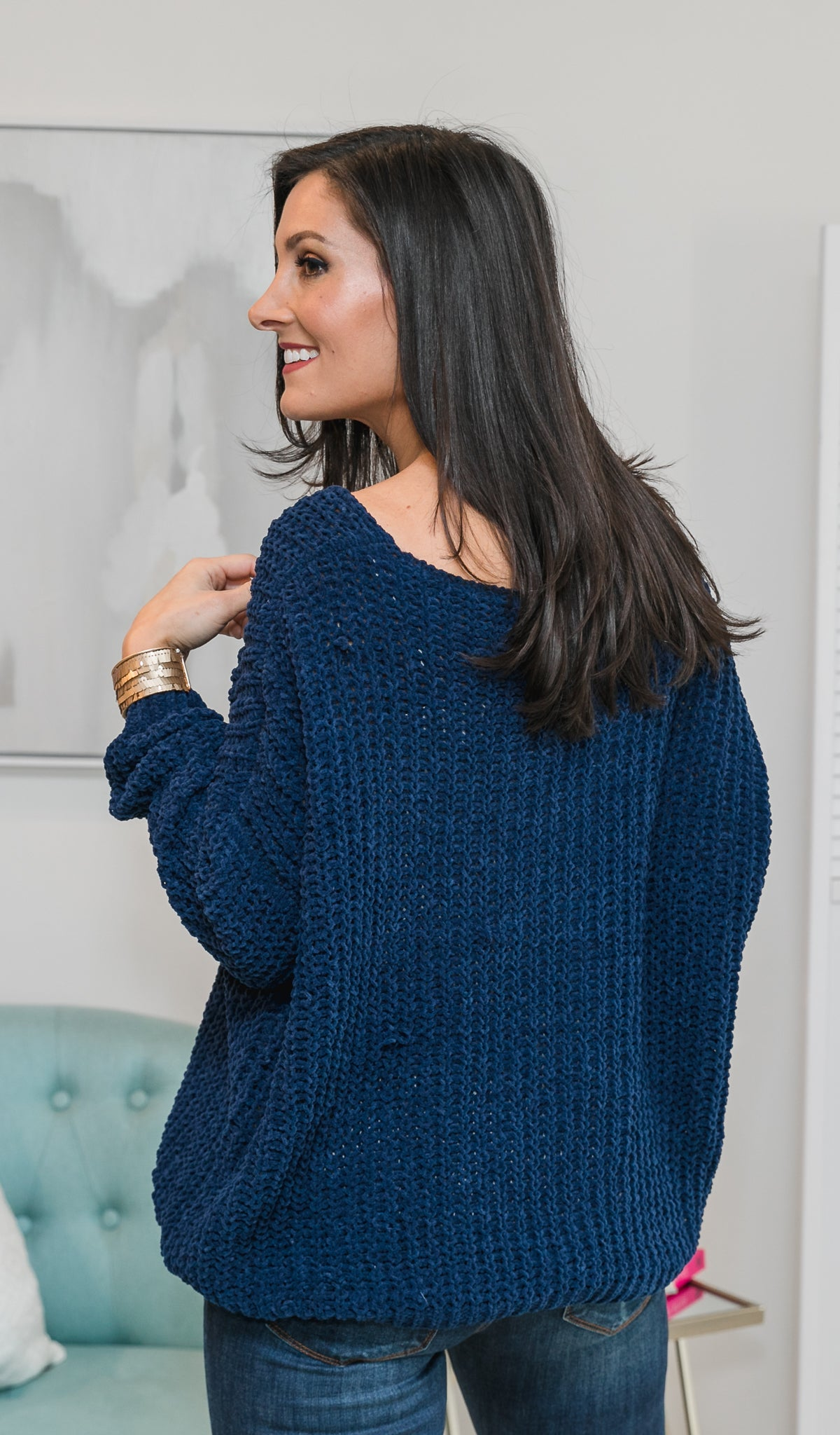 Perfect Moment Sweater, Navy