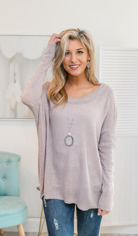 Next Level Long Sleeve Top, Ivory