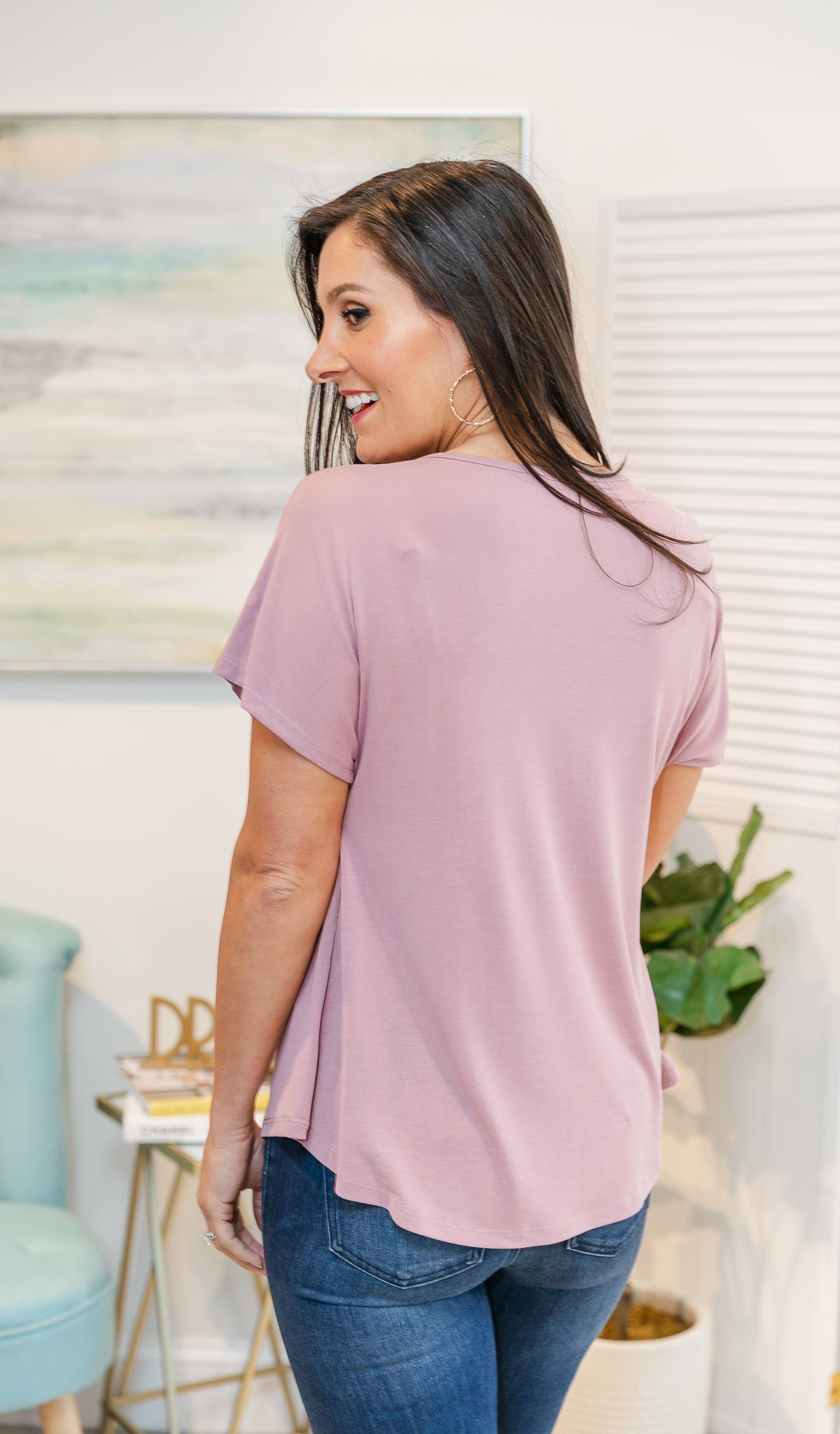 Personal Preference Top, Blush