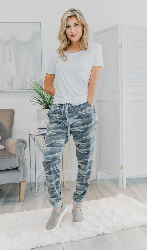 All Day Long Joggers, Camo